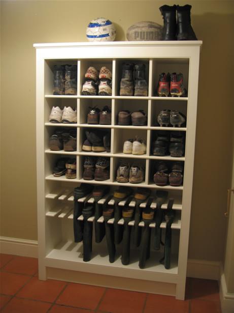 Mudroom Coat Rack With Shelf